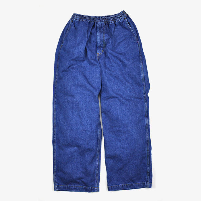 graphpaper denim baggy pant bl stripe inc online store