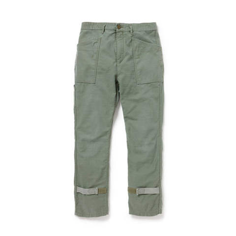 Gardener Trousers Relax Fit Cotton Back Satin VW
