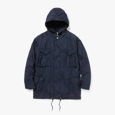 HUNTER HOODED COAT C/L TWILL