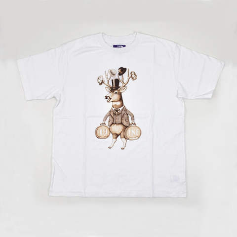 5.5oz Graphic H/S Tee W1(Deer)