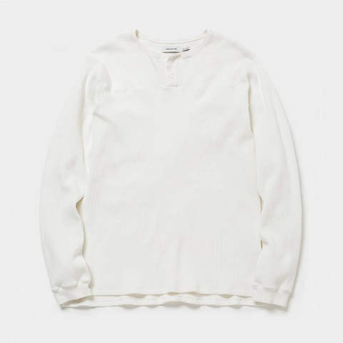 HUNTER HENLEY NECK L/S TEE C/P THERMAL