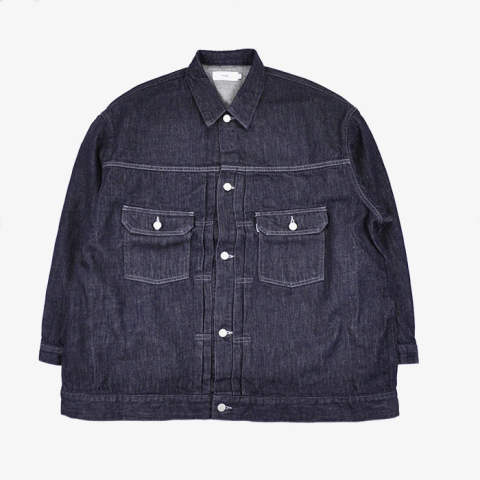 Colorfast Denim Blouson