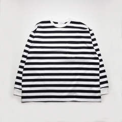 Border L/S Pocket Tee